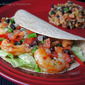 Chipotle Shrimp Tacos with Black Bean Pico de Gallo