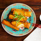 Fried Chinese Spring Rolls
