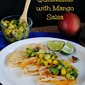 Shrimp Quesadillas with Mango Salsa