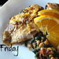 Refreshing Citrus Fish: Orange Ginger Tilapia with Kale & White Bean Ragout