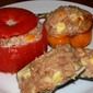 Chinese Salted Pork Stuffed Vegetables