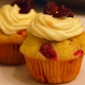 Cranberry Orange Cupcakes with Cream Cheese Frosting