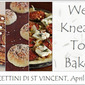 We Knead to Bake #4 : Torcettini di Saint Vincent - sugar crusted yeasted cookies from Valle d'Aosta
