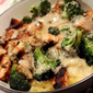 Skinny Chicken 'n Broccoli Fettuccine - from Marsha's Munchies