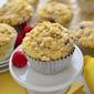 Raspberry Lemonade Crumb Muffins