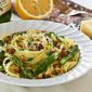 Asparagus and Breadcrumbs Fettuccine