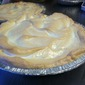 Lemon Berry Pie with Meringue Top