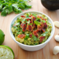 Bacon and Roasted Garlic Guacamole