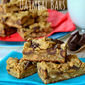 Reese's Peanut Butter Oatmeal Cookie Bars