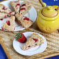 Strawberries & Cream Scone Recipe for Mother's Day {Healthy}