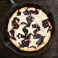 Grilled Blueberry Lemon Pie