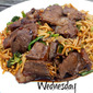 Leftover Wednesday: Teriyaki Beef Lo-Mein