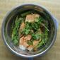Asparagus, Tomatoes, Ginger & Cilantro Salmon 芦笋蒸三文鱼