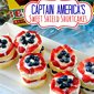 Captain America's Sweet Shield Cakes & Disney Giveaway!