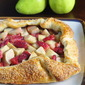 Five Spice Pear Strawberry Galette