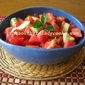 DERBY WATERMELON AND TOMATO SALAD