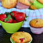 Strawberry and Cream Cheese Muffins