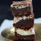 Chocolate Brownies with Cream Cheese Swirls