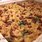 Macaroni Bake with Beans and Cheese