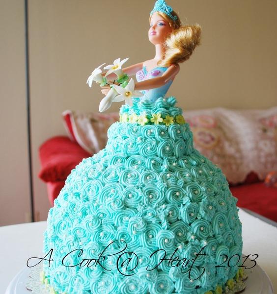 Doll in cake recipe