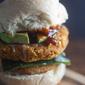 Smokey Chipotle, Lentil, and Cauliflower Burgers