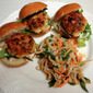 Vietnamese Shrimp Sliders