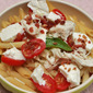 Bacon Mozzarella and Tomato Penne Recipe