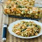 Whole Wheat Orzo Casserole Recipe with Salmon, Asparagus, and Feta