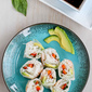 Shrimp, California Avocado & Rice Noodle Spring Rolls Recipe