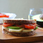 Caprese Sandwich With Avocado