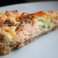 Wholemeal Peppered Smoked Salmon Tart