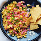 Peach Salsa with Watermelon and Serrano Chiles