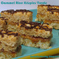 Toffee Caramel Rice Krispies Treats Post #100!!!