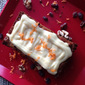 Healthy Vegan Carrot Cake with Orange Citrus Frosting