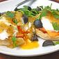 Salsa Verde Eggs Benedict