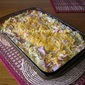CABBAGE, HAM AND SPAGHETTI CASSEROLE