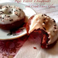 RECIPE: Mascarpone Filled Red Velvet Doughnuts with Cream Cheese Glaze