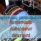 The BEST Homemade Dishwasher Detergent {In My Humble Opinion}