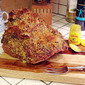 Crumb-Coated Baked Ham