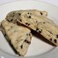 Cream Scones with Chocolate Chips