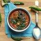 Lamb Eggplant Stew / Aatu kari Katharikkai Kulambu / ஆட்டு கரி கத்தரிக்காய் குழம்பு