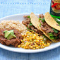 Crock Pot Pork Carnitas with a Copy Cat Chipotle Corn Salsa