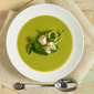 Asparagus Soup with Lump Crabmeat