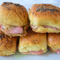 Sweet Ham and Cheese Sliders