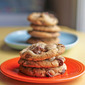 Snickers and Milk Chocolate Chip Cookies