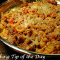 Sloppy Joe & Mac Skillet
