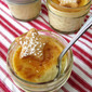 Perfect For a Picnic: Coconut Custard Cups