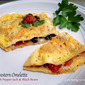 Southwestern Omelette with Pepper Jack & Black Beans