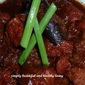 Braised Pork Belly with Red Glutinous Wine Lees (紅糟,Ang Zhao) Read more: Simply Beautiful and Healthy Living http://simplybeautifulhealthyliving.blogspot.com/#ixzz2ToEnGKcK