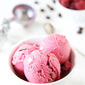 Raspberry Dark Chocolate Frozen Yogurt {GIVEAWAY}